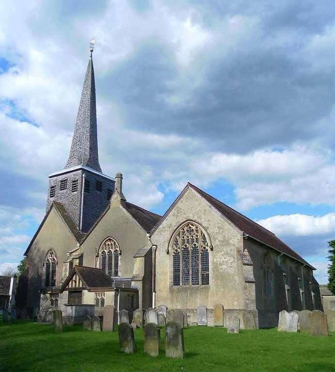 Iglesia de San Bartolomé en Horley