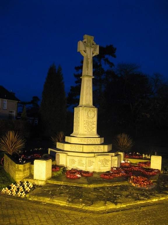 Monumento a la Guerra en Horley