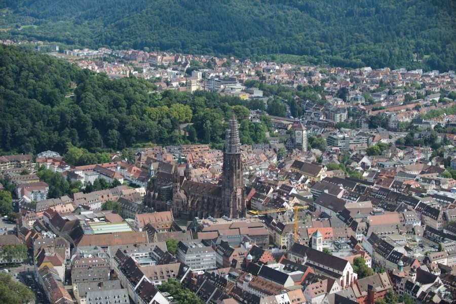 Vista panorámica de Friburgo