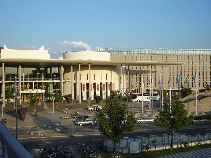 Sala de conciertos en la ciudad de Friburgo