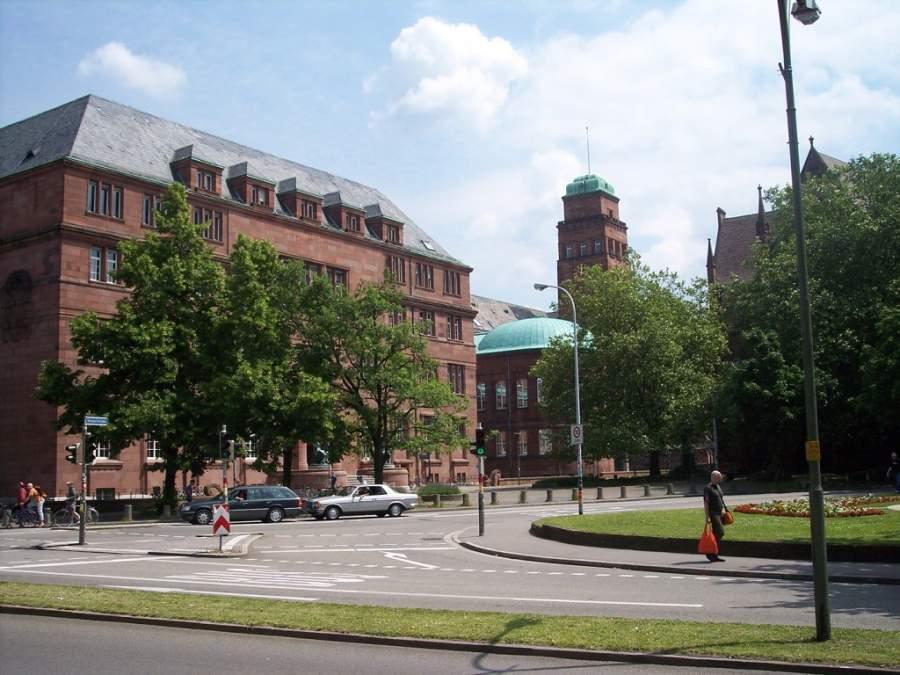 Edificio de la Universidad de Friburgo