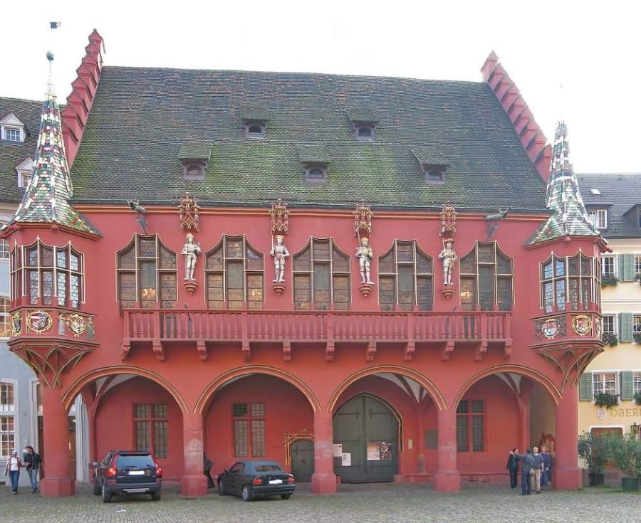 Almacenes de la Plaza de la Catedral en Friburgo