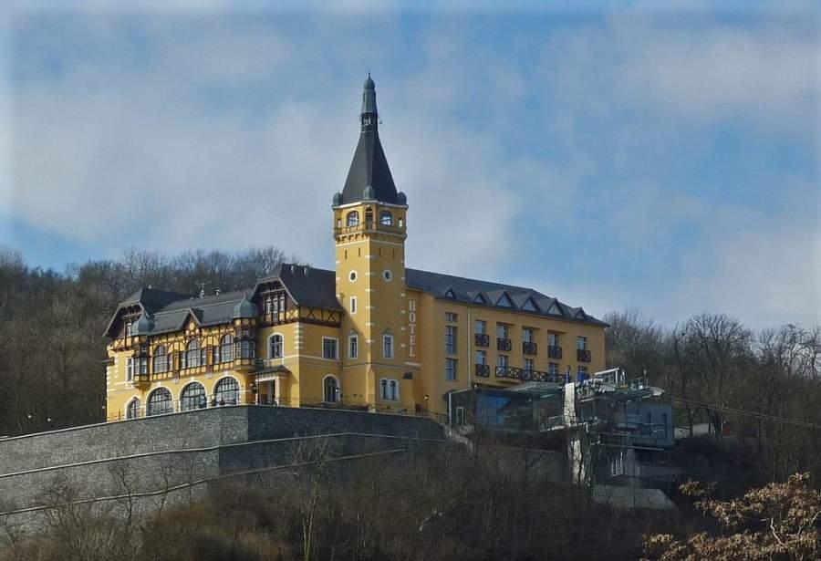 Zámecek Vetruse, importante palacete en Ústí nad Labem