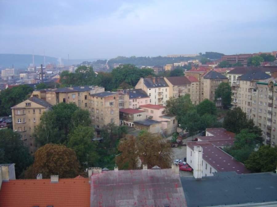 Vista de la ciudad de Ústí nad Labem