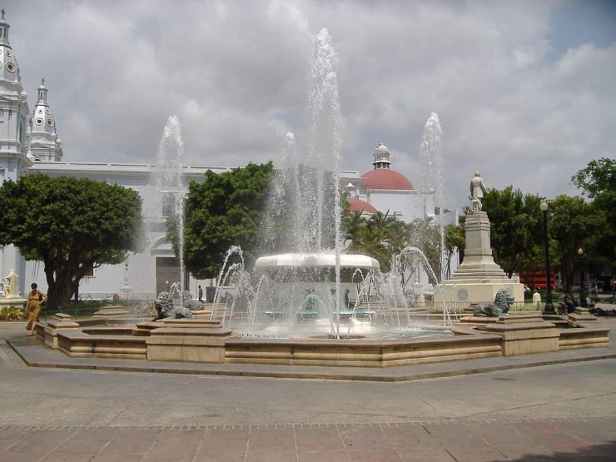 Fuente de los Leones en Ponce