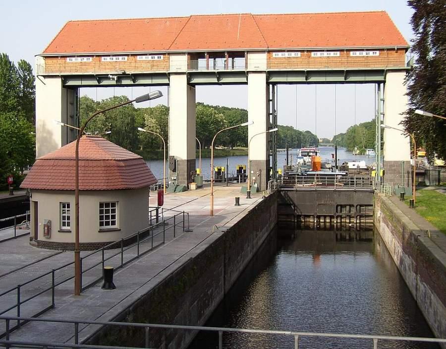 Esclusas del canal Teltow en Kleinmachnow