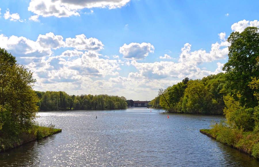 Lago Machnower en Kleinmanchnow