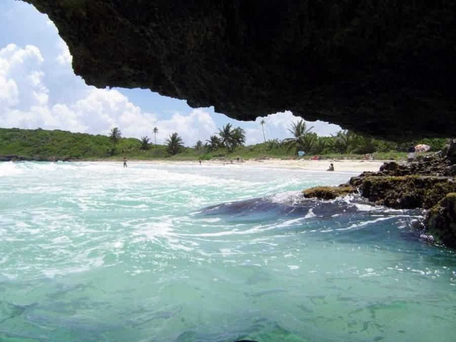 Cavernas en la isla de Vieques
