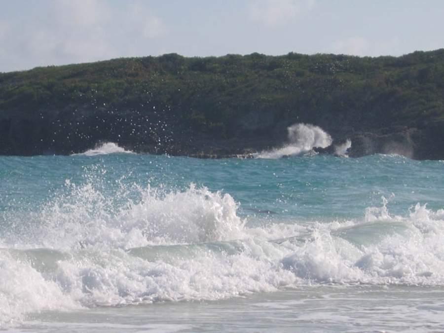 Playa Navío es ideal para el surf