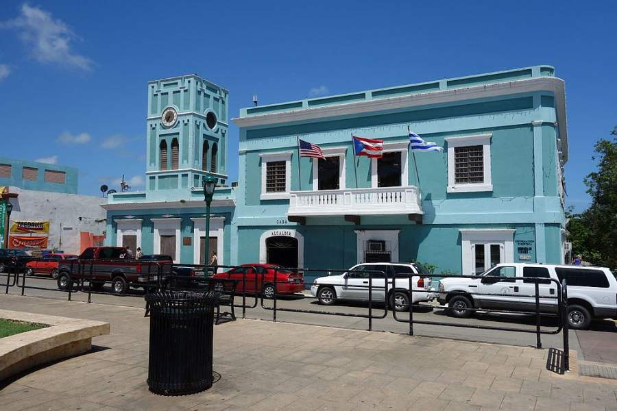 Alcaldía de Isabel Segunda, poblado en la isla de Vieques