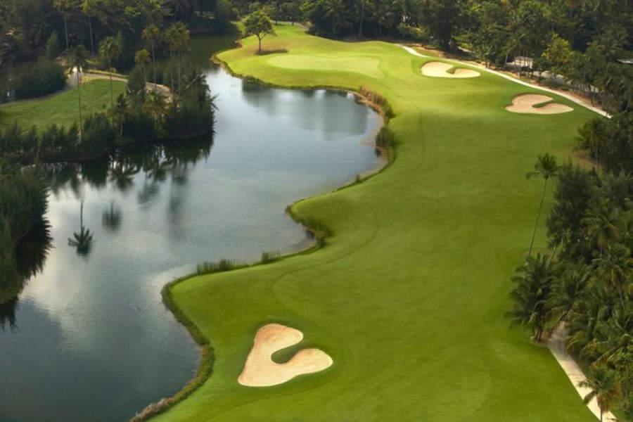 Panorámica del club de golf Bahia Beach Resort & Golf Club
