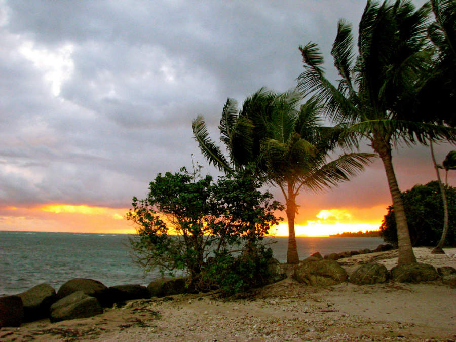 Atardecer en Coco Beach