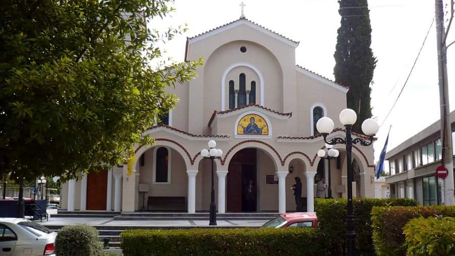 Iglesia en la comunidad de Spata