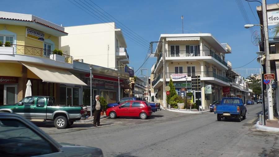 Calles en el centro de Spata