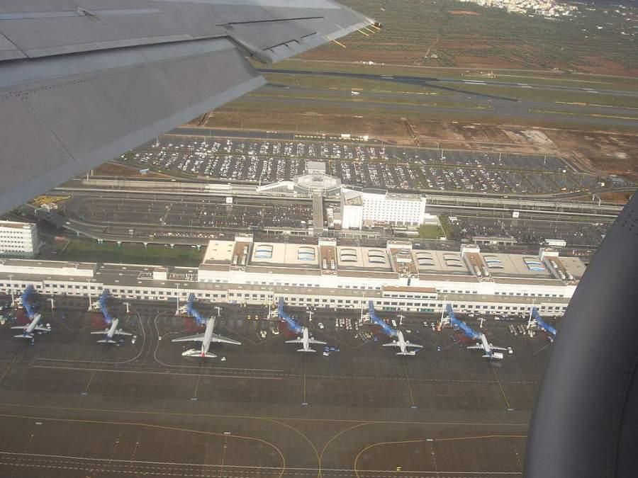 Vista del aeropuerto Eleftherios Venizelos en Spata