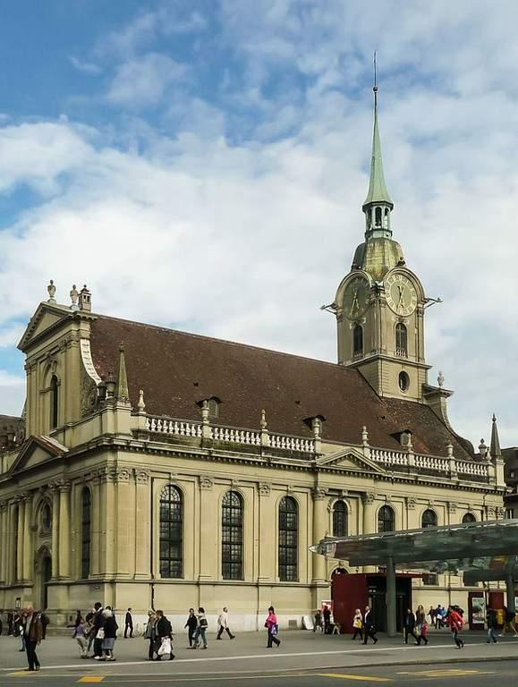 Iglesia del Espíritu Santo en Berna