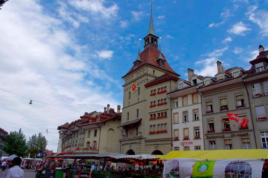 Bärenplatz, importante plaza en la ciudad de Berna