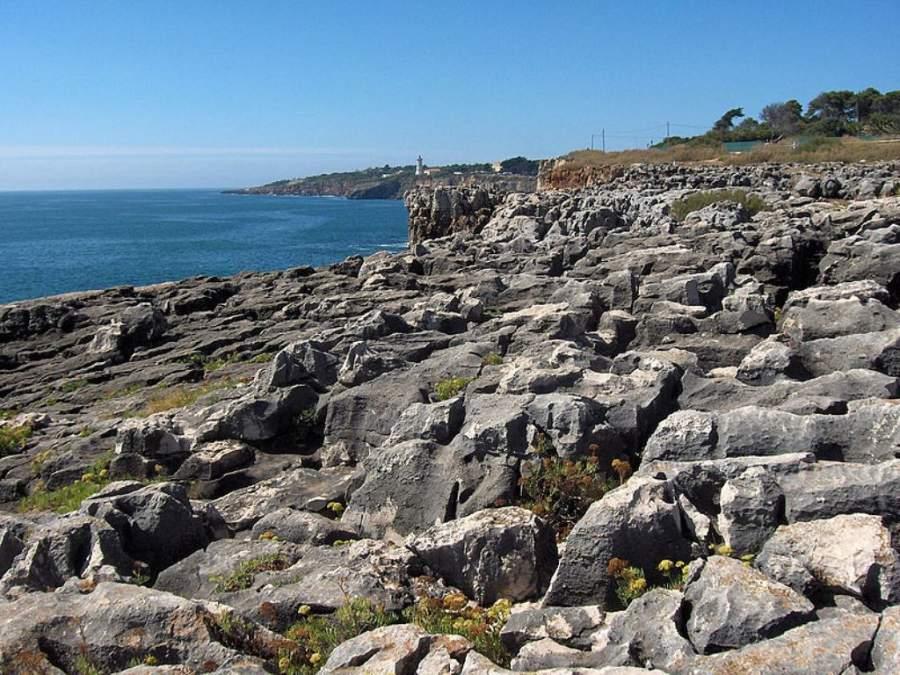 Boca do Inferno, con acantilados y formaciones rocosas