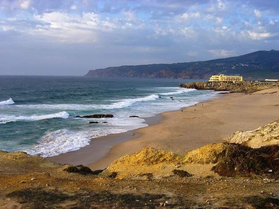Zona de costa del Parque Natural de Sintra-Cascais