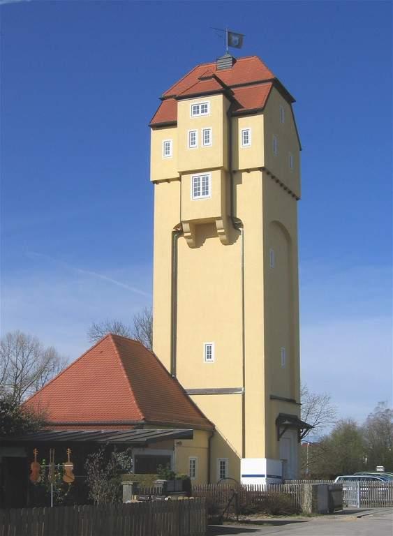 Torre de agua en Unterhaching