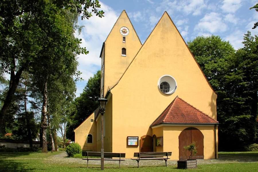 La Iglesia de San Korbinian es la construcción más antigua en Unterhaching