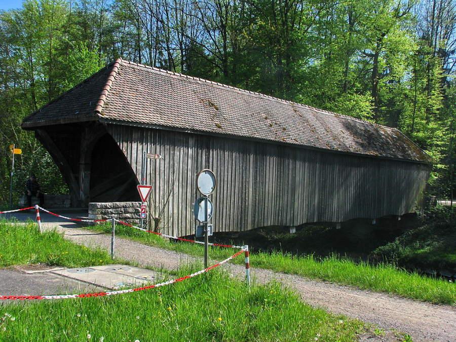 Puente Grubenmann en Rümlang