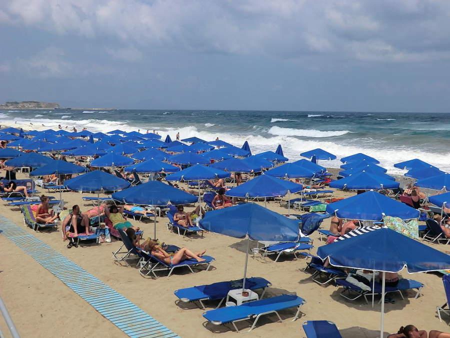La playa de Rétino es ideal para disfrutar en el verano