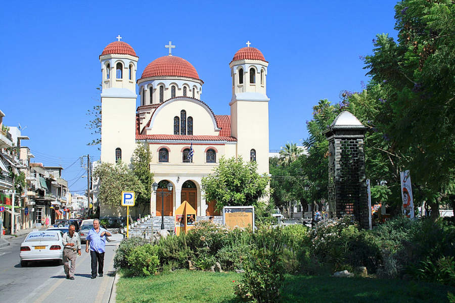 Iglesia de los Cuatro Mártires en Rétino