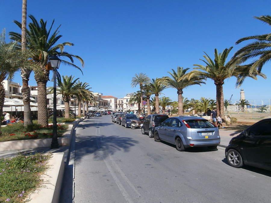 Calle Sofoklis Venizelou en Rétino