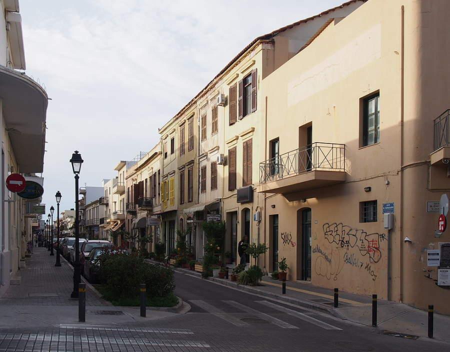 Calle Gerakaris en Rétino