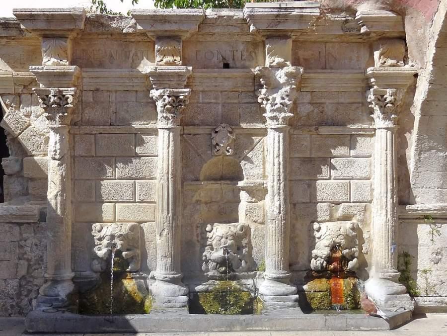 La Fuente Rimondi es un importante monumento en Rétino