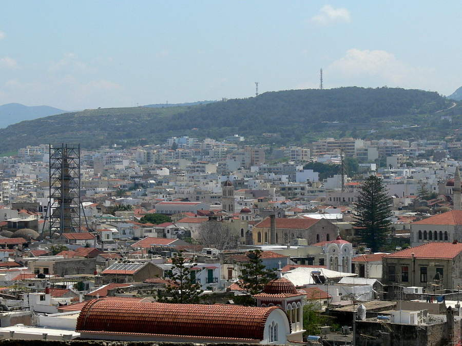 Rétino es la tercera ciudad más grande de la isla de Creta