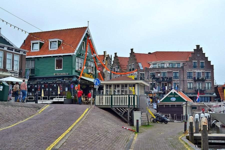 Arquitectura de la ciudad de Volendam