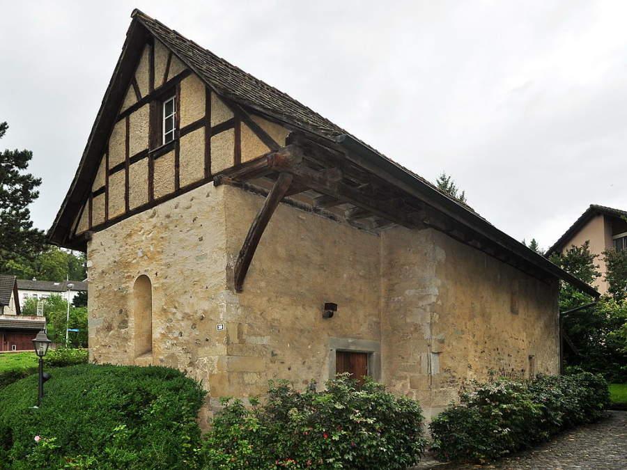 Una iglesia en Regensdorf