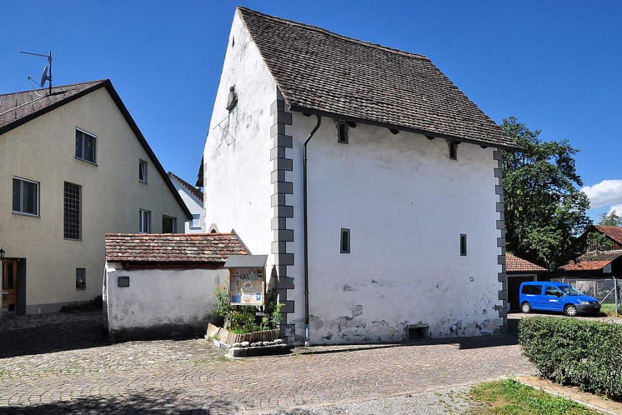 Construcciones antiguas en Regensdorf