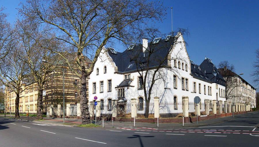 Antiguo cuartel en Krefeld