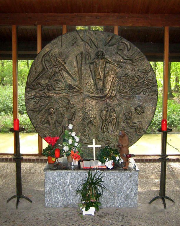 Disco de bronce en Krefeld