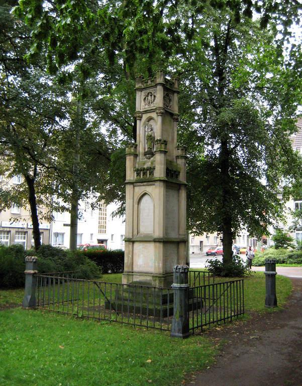 Monumento a los veteranos en Krefeld