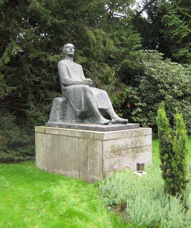 Monumento en el distrito de Fischeln en Krefeld