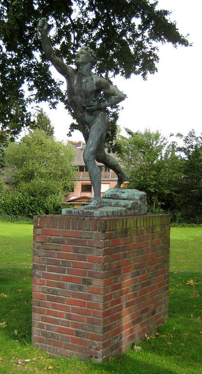 Monumento del maratón en Krefeld