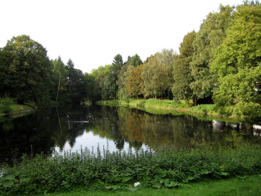 Kaiserpark en Krefeld