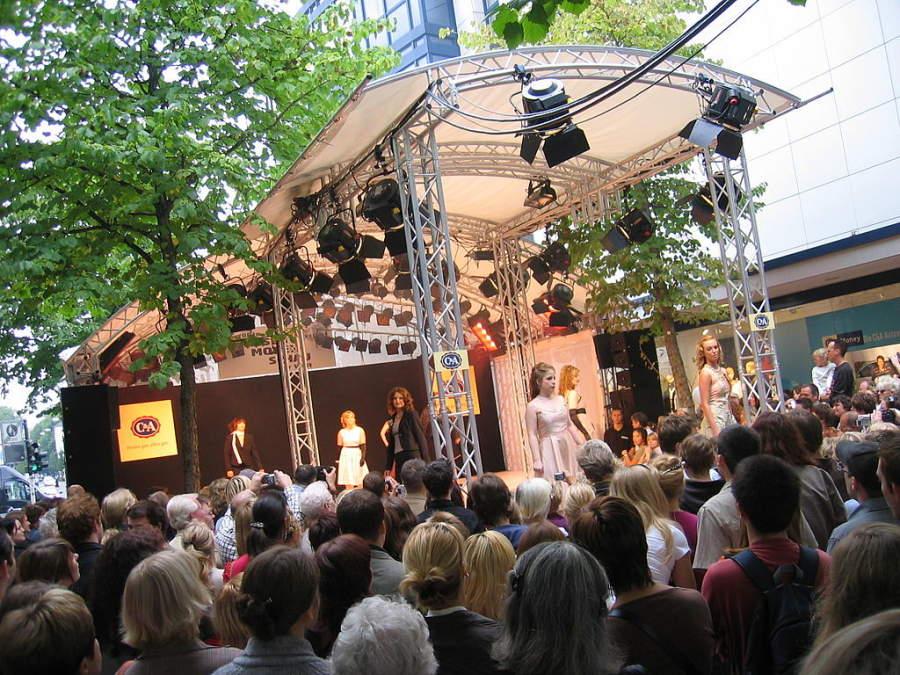 En Krefeld se llevan a cabo desfiles de moda