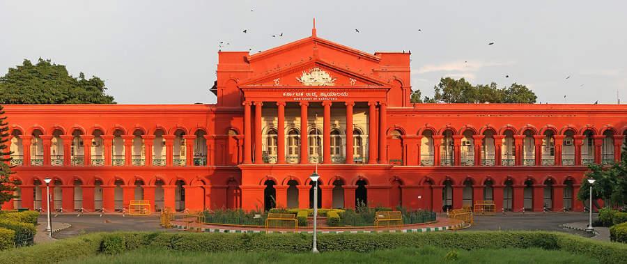 Edificio de la Corte Mayor de Karnataka en Bangalore
