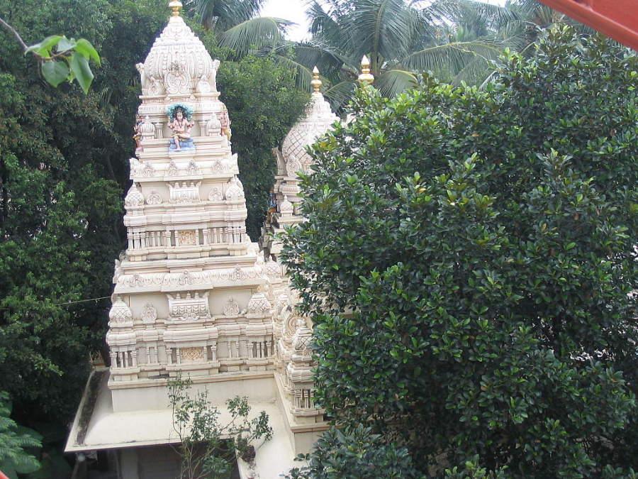 Templo Ragigudda Sri Prasanna Anjaneya en Bangalore