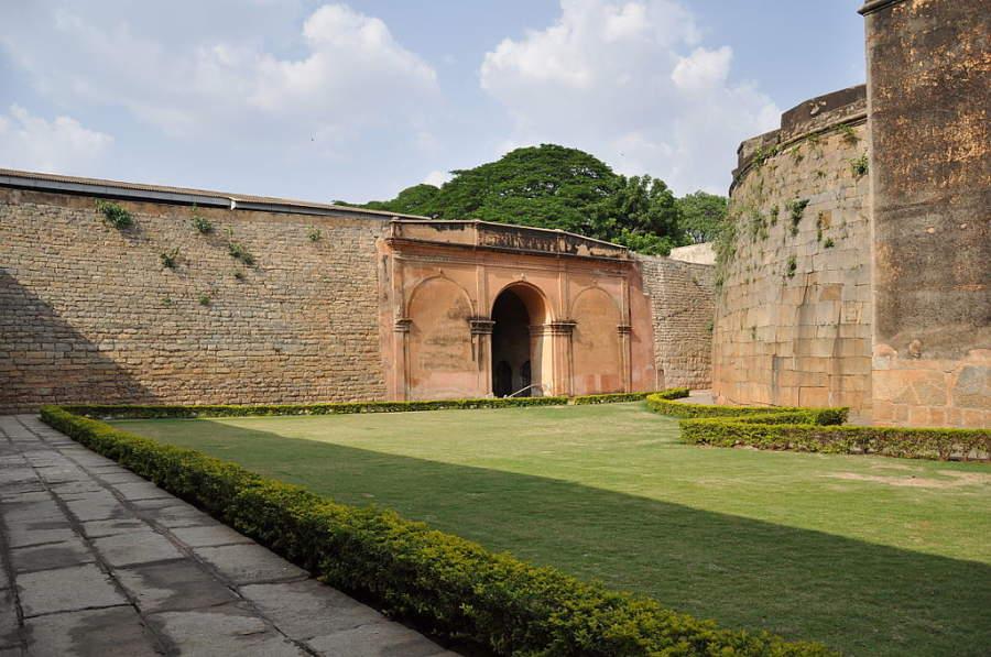 Camina por el Fuerte de Bangalore