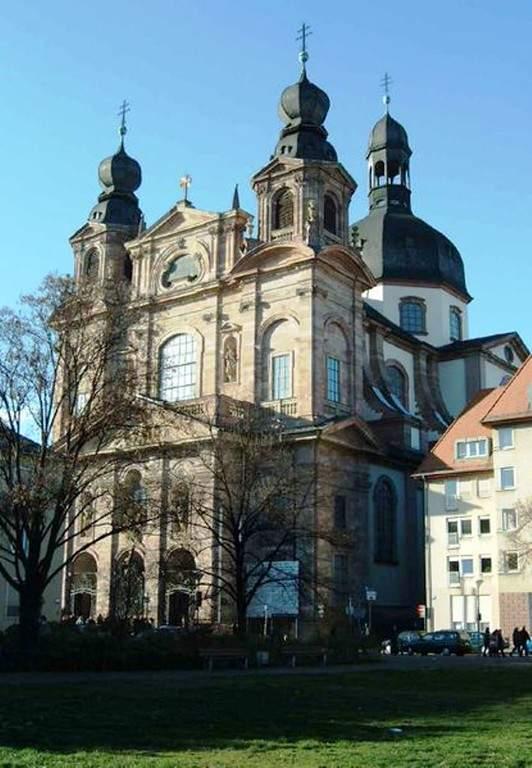 Iglesia de Jesús construida en estilo barroco entre 1733 y 1769