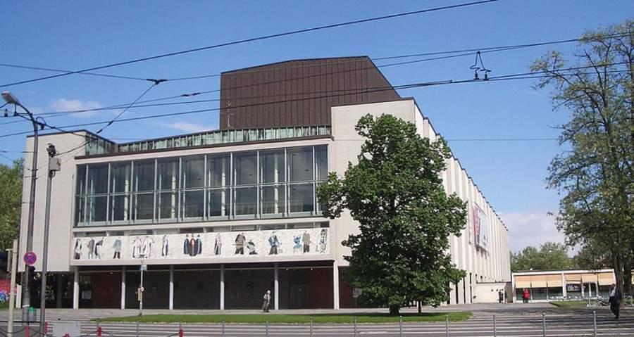 Instalaciones del Teatro Nacional de Mannheim