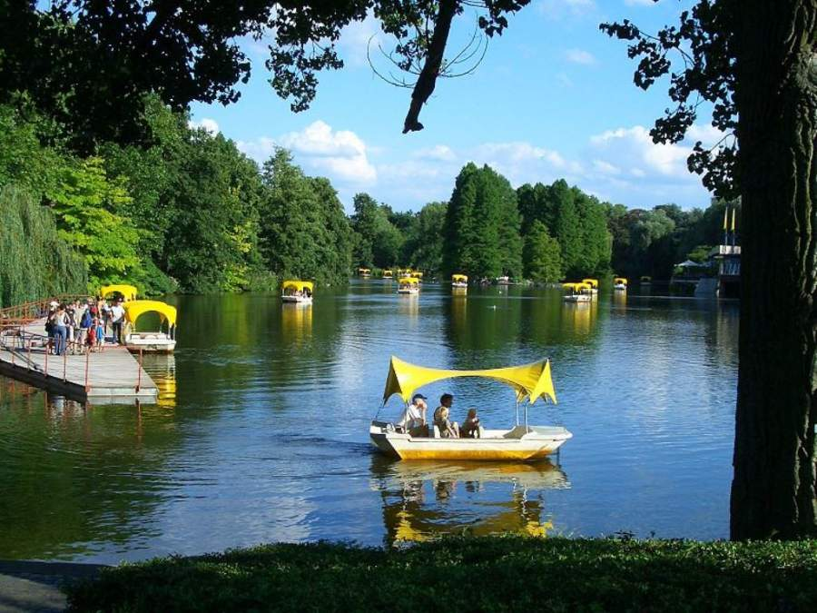 Lago del Parque Luisen