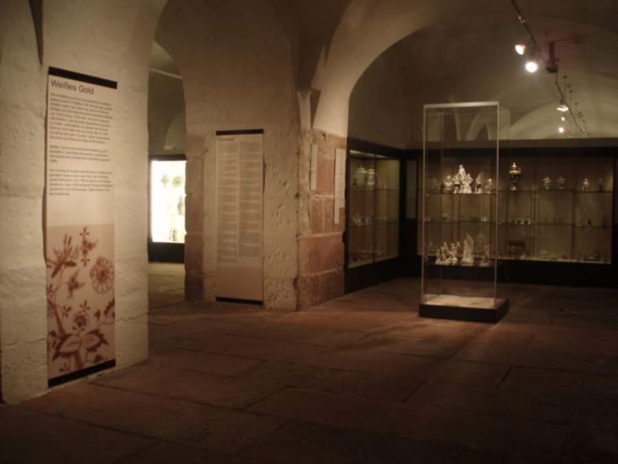 Sala de exposición del Museo Reiss