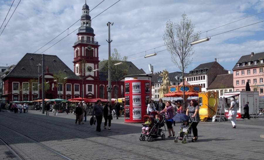 Centro histórico de Mannheim